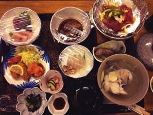 28回高倉荘夕食